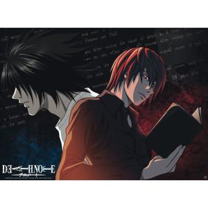 Death Note - L vs. Light - 52x39 Chibi-Poster