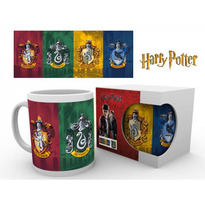 Harry Potter Hogwarts Houses 320ml Mug