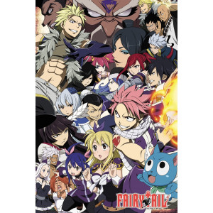 Fairy Tail Season 6 Group Poster