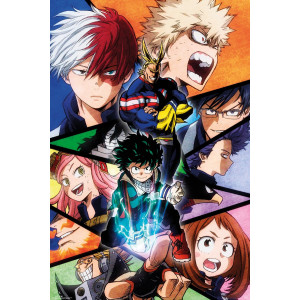 My Hero Academia Group Poster