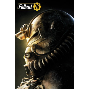 Fallout 76 Power Armour T-51b Poster
