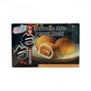 Mochi - sticky rice cake - peanut in gift box 210g - Yuki & Love