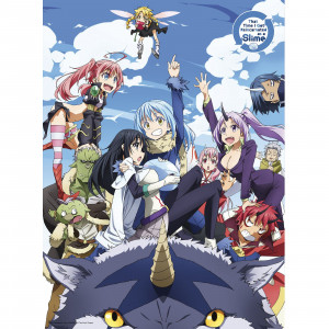 That Time I Got Reincarnated as a Slime - Group - 52x38 Chibi-Poster