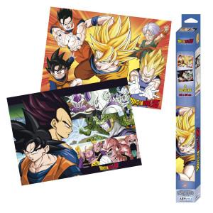Dragon Ball Z - Saiyans - 2x 52x38 Chibi-Poster