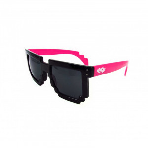 8-Bit black/red Pixel Sunglasses