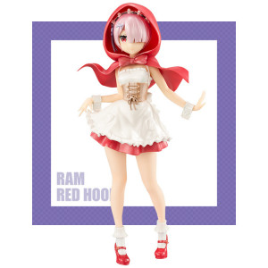 Re:Zero kara Hajimeru Isekai Seikatsu - Ram - Super Special Series - Red Hood Pearl Color Ver. 21 cm figure