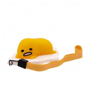 Gudetama on couch LED lamp keychain