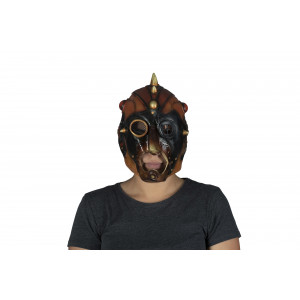 Steampunk latex mask