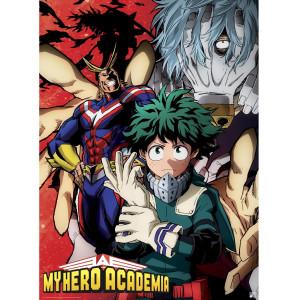 My Hero Academia - Deku vs. Tomura - 52x35 Chibi-Poster