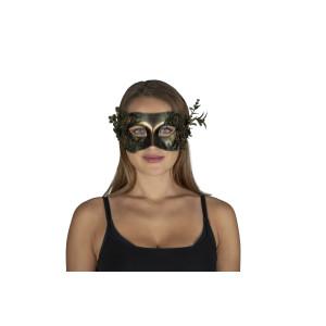 Steampunk half mask Flora
