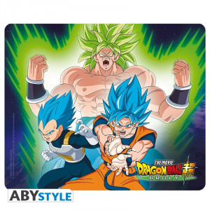 Dragon Ball Z Broly vs Goku Mauspad