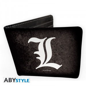"Death Note ""L"" logo wallet"