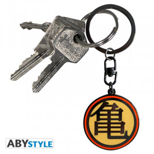 "Dragon Ball Z ""Kame"" logo keychain"