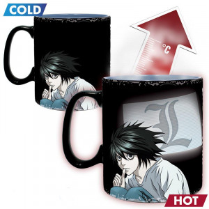 Death Note - Kira & L - 460ml Heat Mug