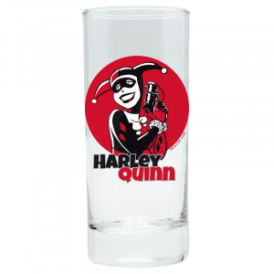 DC - Harley Quinn - 290ml Glass