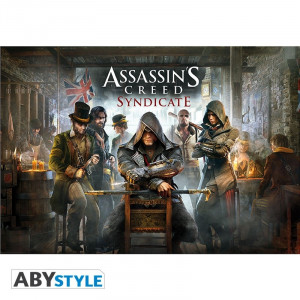 Assassins Creed Syndicate Jaquette Poster