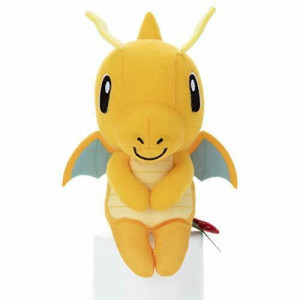 Pokémon - Dragonite - Chokkori-san sitting Version - 10cm Plush