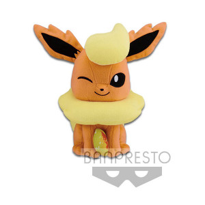 Pokemon Flareon with firestone 23cm Plüschfigur