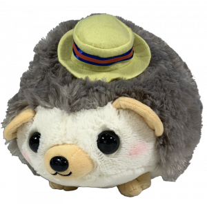 Amufun Amuse Hedgehog Harin Style hedgehog brown 32cm plush