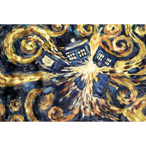 Doctor Who Exploding Tardis Poster