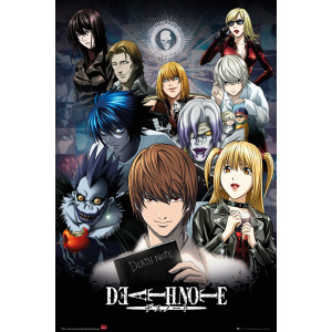 Death Note Group Poster