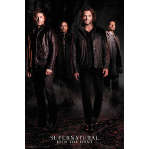 Supernatural Season 12 Key Art Poster