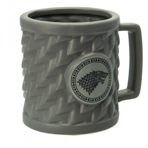 Game of Thrones - House Stark - 500ml 3D Mug