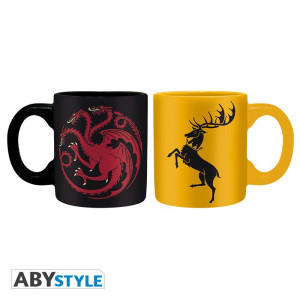 Game of Thrones Targaryen & Baratheon 110ml Mug Set