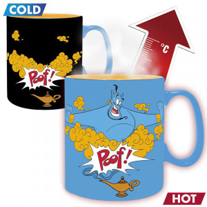 Disney - Aladdins Genie - 460ml Heat Mug