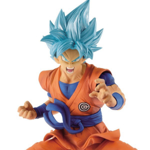 Dragon Ball Super - Super Saiyajin Blue Goku Transcendence Art 18 cm figure