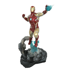 COLLECTOR ♦ Avengers: Endgame Marvel Movie Gallery PVC Diorama Iron Man MK85 23 cm figure