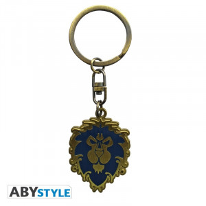 World of Warcraft Alliance logo keychain