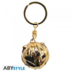 Harry Potter Golden Snitch 3D Keychain