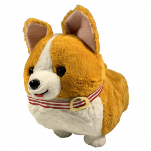 Amufun Corgi Big light brown 48cm plush