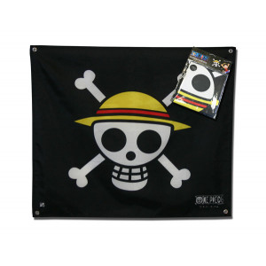 One Piece Piraten Ruffys Strohhutbande 50x60 cm Flagge