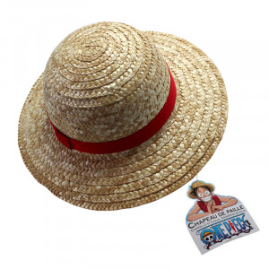 One Piece Luffy Straw Hat for Adults