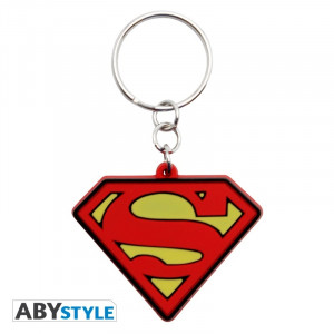 DC Comics Superman Logo Gummy Keychain