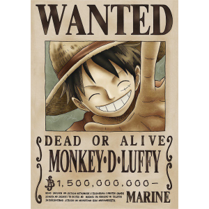 One Piece - Monkey D. Luffy - Wanted Poster