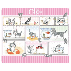 Chi Chi's Little Cat Mouse Pad