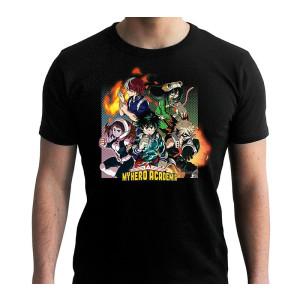 My Hero Academia - Group - T-Shirt black