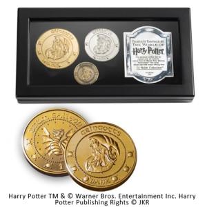 Harry Potter Replik Gringotts Bank Münzen-Set