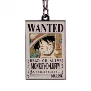 "One Piece - ""Wanted Luffy"" - Keychain"