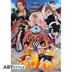 One Piece Marine Ford Poster