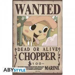 One Piece Chopper 91,5x61cm Wanted Poster