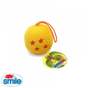 Dragonball Plush Keychain 6cm Crystal Ball
