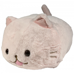 Amuse Marshmallow Cat Pink 38cm plush