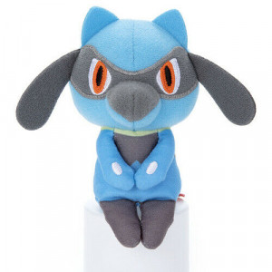Pokémon - Riolu - Chokkori-san sitting Version - 10cm Plush
