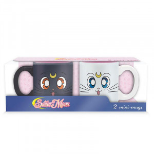 Sailor Moon - Luna & Artemis - Espresso Mug Set