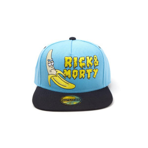 Rick and Morty - Banana - Snapback Cap