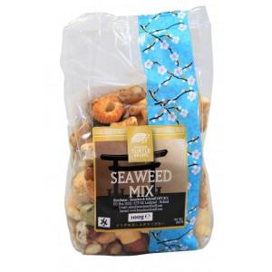 Golden Turtle Brand Seaweed Mix / Reiscracker-Mix mit Seetang 100gr